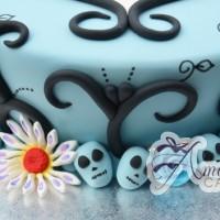 Corpse bride themed cake - Amarantos Designer Cakes Melbourne