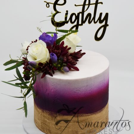 Two Tier Hat Box Cake - Amarantos Designer Cakes Melbourne