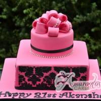 Two Tier Design Cake - Amarantos Designer Cakes Melbourne