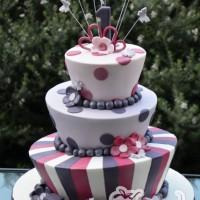 Three Tier Mad Hatter Cake - Amarantos Designer Cakes Melbourne