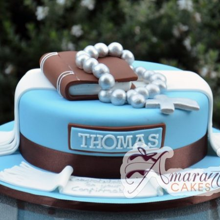 Communion Cake - Amarantos Celebration Cakes Melbourne
