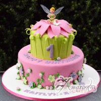 Two tier fairy cake AC229