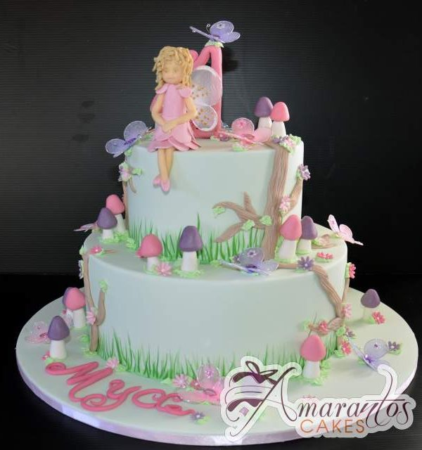 Two tier fairy cake Ac230