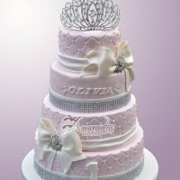 Four Tier Princess Cake - Amarantos Cakes Melbourne