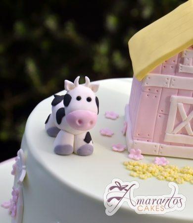 Cow farm cake - Amarantos Designer Cakes Melbourne