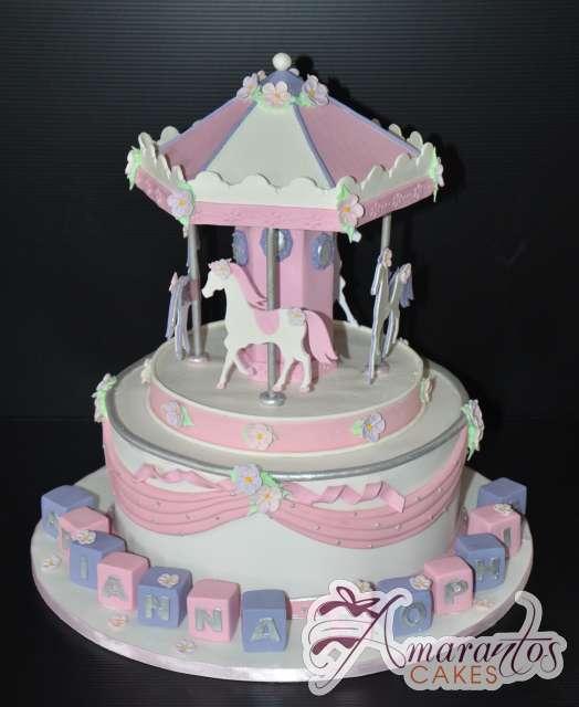 CAROUSEL CAKE CC35