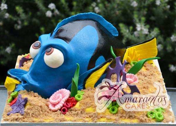 3D Dory NC315 Amarantos Cakes
