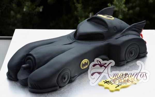 3D Batmobile NC321 Amarantos Cakes