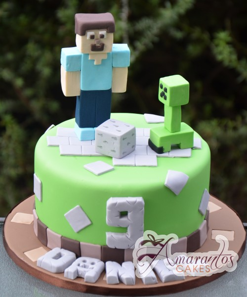 minecraft cake for sale