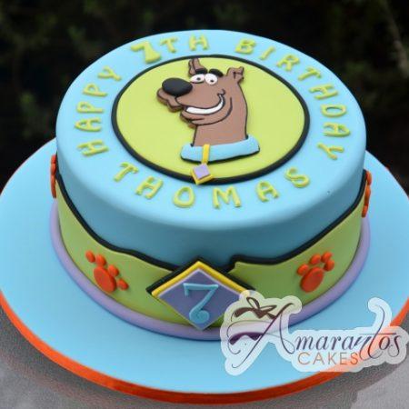 Scooby Doo Cake - Amarantos Designer Cakes Melbourne