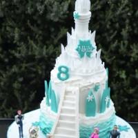 Frozen Castle Cake - Amarantos Cakes Melbourne