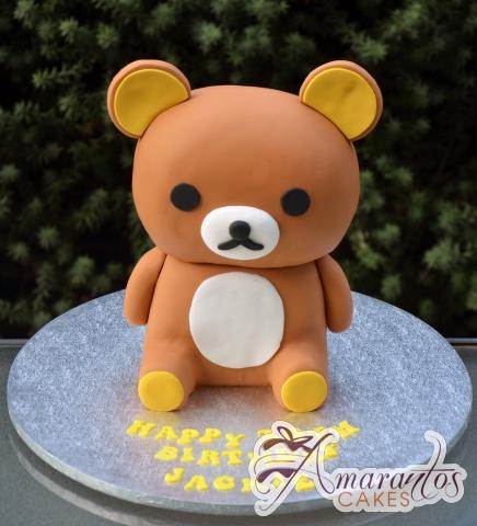 Rilakkuma Teddy Bear Cake – NC686 – Amarantos Birthday Cakes Melbourne