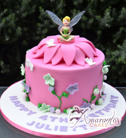 Astounding Fairy Birthday Cake Cakes Gallery Personalised Birthday Cards Sponlily Jamesorg