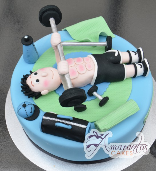 Home Novelty Cakes Sport Fitness Gym theme Gym Theme Cake