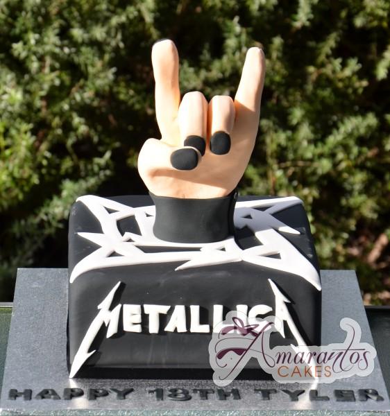 Metallica Cake Nc330